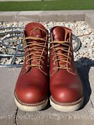 Red Wing Rover 2950 Boots Copper Rough And Tough Size Us 8d