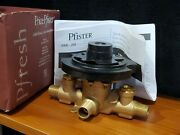 Price Pfister 0x8-340a Pressure Balance Valve, Universal Fittings, With Stops