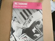 Metronome Magazine May 1943, Count Basie On Detached Covers