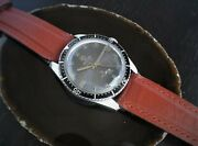 Vintage Tressa Diver Manual Wind Swiss Watch From Ca 1960