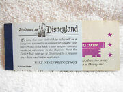 1971 Disneyland Any Age Magic Key Ticket Coupon Book Booklet Disney Old 1970s