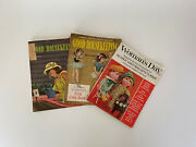 Vintage 50s Good Housekeeping Women's Day Lot Magazines