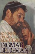 Swedish Director Ingmar Bergman Scenes From A Marriage Signed 1st Edition Rare