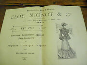 Bonhomme Elloy And Mignot Summer 1904 Suits Petticoats Fashion Of Années 1900