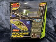 Air Hogs Rc Army Green Ah-64 Apache Helicopter Remote Control New Sealed