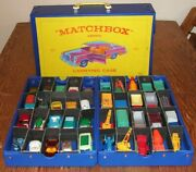 Lot Of 40 Vintage Lesney Matchbox With 1965 Fred Bronner Case Trucks Cars Boat