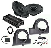 Sx165neo Speakers + Lower Fairing Pods + Flash Tool + Hmp4d Amp For 14+ Harley
