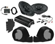 Sx165neo Speakers + Lower Fairing Pods + Hmp4d Amp + Flash Tool For 14+ Harley