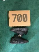 Free Ship Adidas Yeezy 700 Mnvm Andlsquotriple Blackandrsquo Size 7.5 Fv4440 Confirmed
