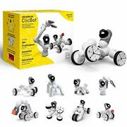 Clicbot Coding Robot Kits For Kids, Stem Educational Toys For Programming With R