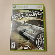 Need For Speed Most Wanted Cib Xbox 360, 2005 Tested [complete]