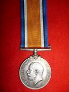 Ww1 British War Medal To Sergeant Green, Military Foot Police