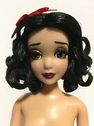 Snow White Designer Doll Disney Limited Edition Curly Hair Nude 12 In.