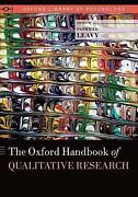 The Oxford Handbook Of Qualitative Research Oxford Library Of Psychology By