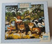 Charles Wysocki Puzzles 1000 Pieces 2007 1 Missing Piece Pre-owned Bagged