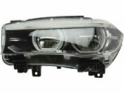 For 2015 Bmw X6 Headlight Assembly Left Marelli 44791kc F16