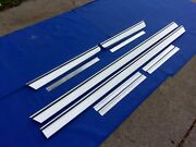 New 1965 Chevrolet Impala Rocker Panel Moldings And Qtr Extensions With Clips