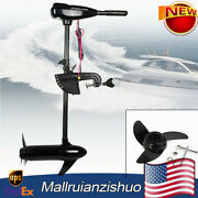 Power Trolling Motor Outboard Brush Fishing Boat Propeller Engine Inflatable