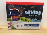 Osmo Genius, Creative Or Coding Starter Kit For Ipad New Version Ages 6-10