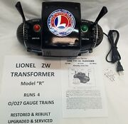 Lionel Zw Transformer - 275w - Model R - Fully Restored And Upgraded And Serviced
