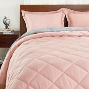 Basic Beyond Down Alternative Comforter Set Queen Assorted Colors Sizes