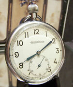 Antique Vintage Jaeger Lecoultre Raf British Military 6e Observers Watch Ww2