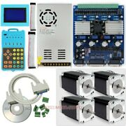 Cnc Professional 4 Axis Tb6560 Driver Kit And 2.1nm Nema 23 Motor, Gcode Recorded