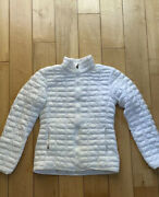 Adidas White Womens Puffer Jacket Size S Great Condition