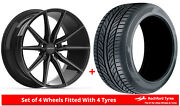 Alloy Wheels And Tyres 20 Inovit Frixion 5 For Mercedes Gla-class [x156] 14-19