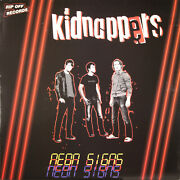 Kidnappers Neon Sings Lp Rip Off Records 070 Green Vinyl