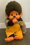 Super Rare Vintage Japan Made Monchichi Monchhichi Doll With Clothes 30 Thumb