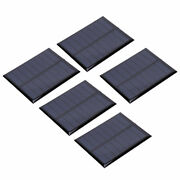 5 X Mini Solar Panel Epoxy Cell Module 4v 150ma For Battery Toys Charger Light