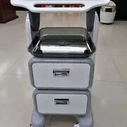 Double-layers Abs Trolley Cart Beauty Salon Instrument Facial Care Tool Spa