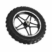 2.5-10in Front Wheel Rubber Tire Replacement For 47cc 2 Stroke Mini Dirt Bike