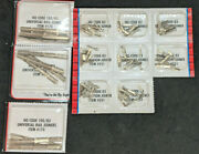 11x Atlas Ho Code 83 And 100 Transitional Rail Joiners Nickel Track. 170 And 551