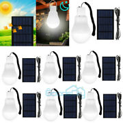 1-10x High Bright Solar Led Camping Lamp Rechargeable Light Bulb Tent Light