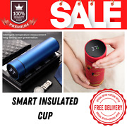 Smart Insulation Cup Portable Water Led Display Sealed Leakproof 400/480/500 Ml