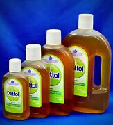 Dettol Uk Original Antiseptic Liquid Free Priority Ship From Usa You Choose Size