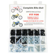 Plastic Body Exhaust Engine Bolts Kit Aftermarket Fit For Yamaha Mx Dt Gt 80 50