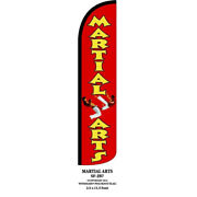 Martial_arts Windless Feather Flag Banner - Jb7
