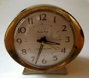 Vintage Baby Ben Westclox Wind-up Alarm Clock Made In Usa For Parts Or Repair