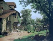 High Quality Oil Painting Handpainted On Canvas The Shepherdand039s Farm