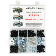 Plastic Exhaust Bolts Aftermarket Fit For Yamaha Utility Atv 4x4 Kodiak Grizzly