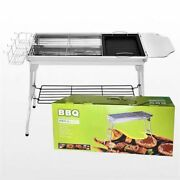Oven Portable Camping Barbecue Charcoal Cooker Outdoor Cooking Foldable