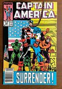 Marvel Comics Captain America Issue 345 Newsstand Issue Excellent