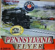 Lionel 6-30018 Pennsylvania Flyer With Realistic Air Whistle