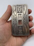 Antique Demley Auto Dice 1920andrsquos In Pocket Gambling Device - Mechanical Dice