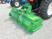 Tractor 3pt H-dty Pto Rotary Tiller 73 Valentini H1800 Qh Compat100hp Gbox