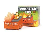 Sold Out Dumpster Fire Vinyl Figure This Is Fire Le- Collab Confirmed Order
