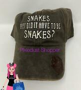Disney Indiana Jones Snakes Why Did It Have To Be Snakes Baseball Hat